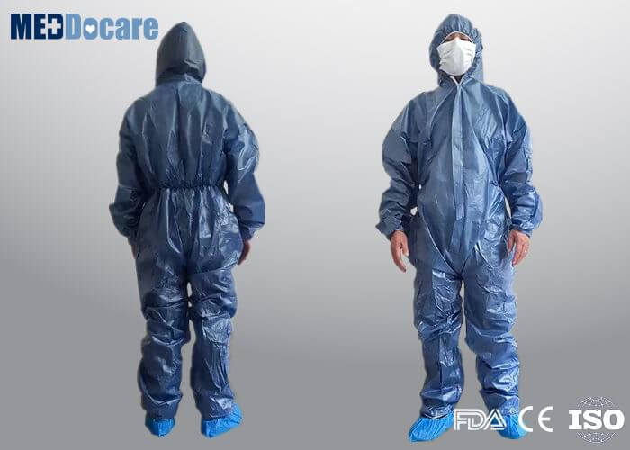 Disposable ppe coveralls