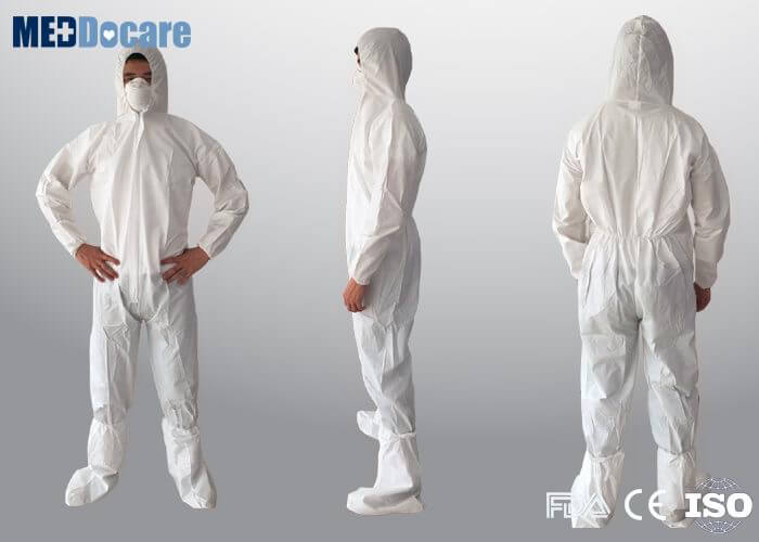 White painter coveralls