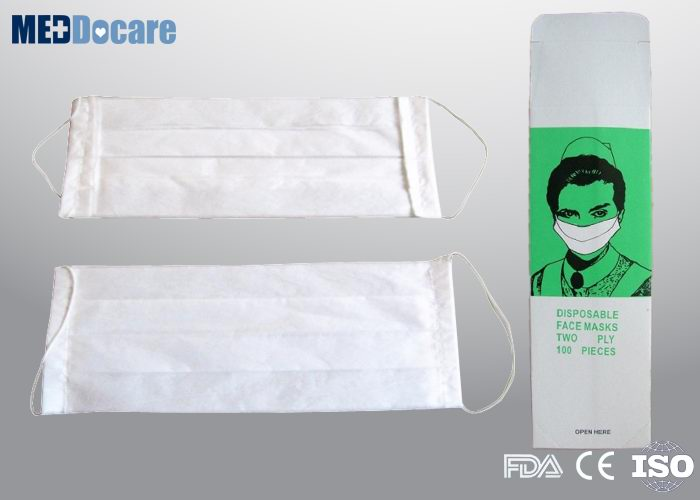 single use paper face masks