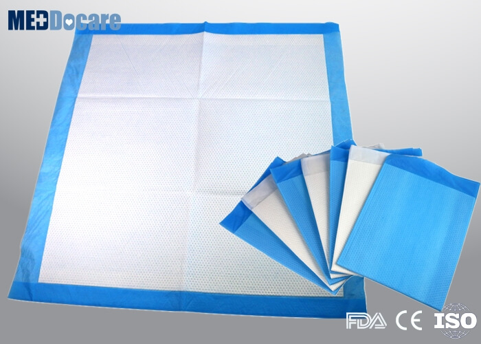 disposable blue underpad